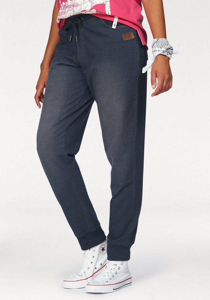 ocean sportswear jogginghose in angesagter jeans optik. Black Bedroom Furniture Sets. Home Design Ideas