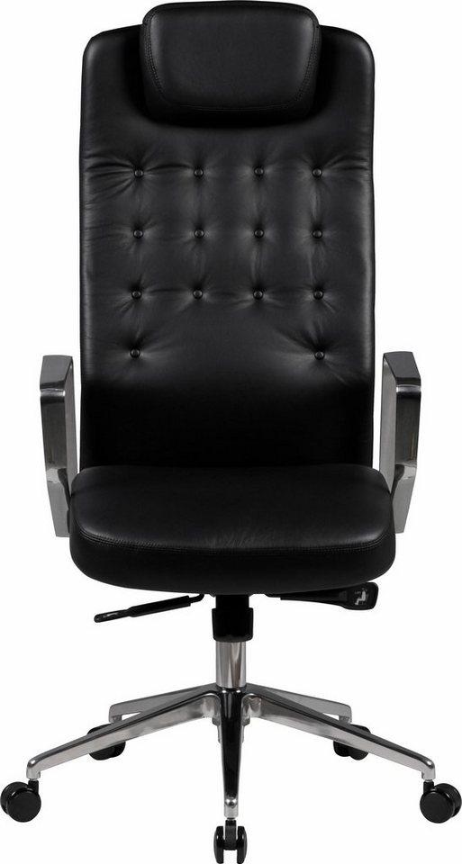 Amstyle Chefsessel »Edison« in schwarz