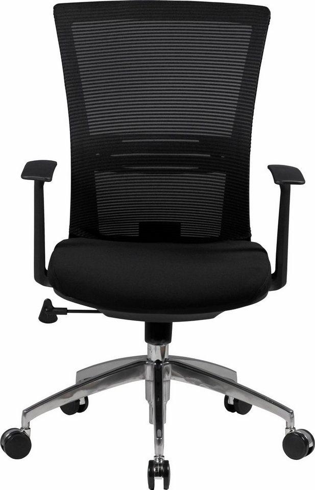 Amstyle Bürostuhl »Baseline« in schwarz