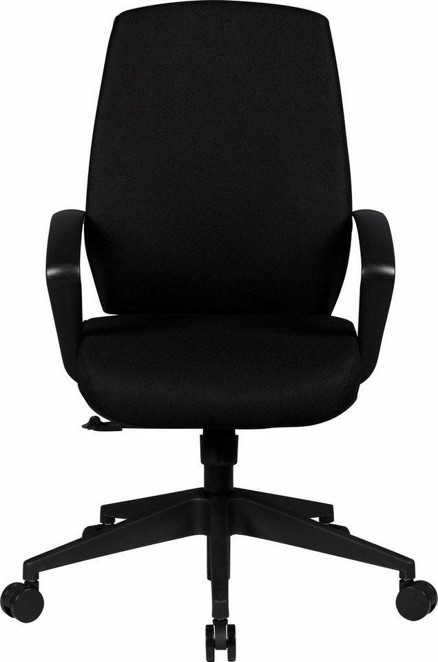 Amstyle Bürostuhl »Carl« in schwarz