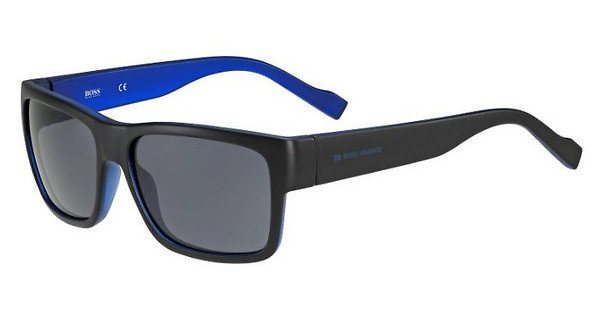 Boss Orange Herren Sonnenbrille » BO 0176/S« in JJS/BN - schwarz/grau