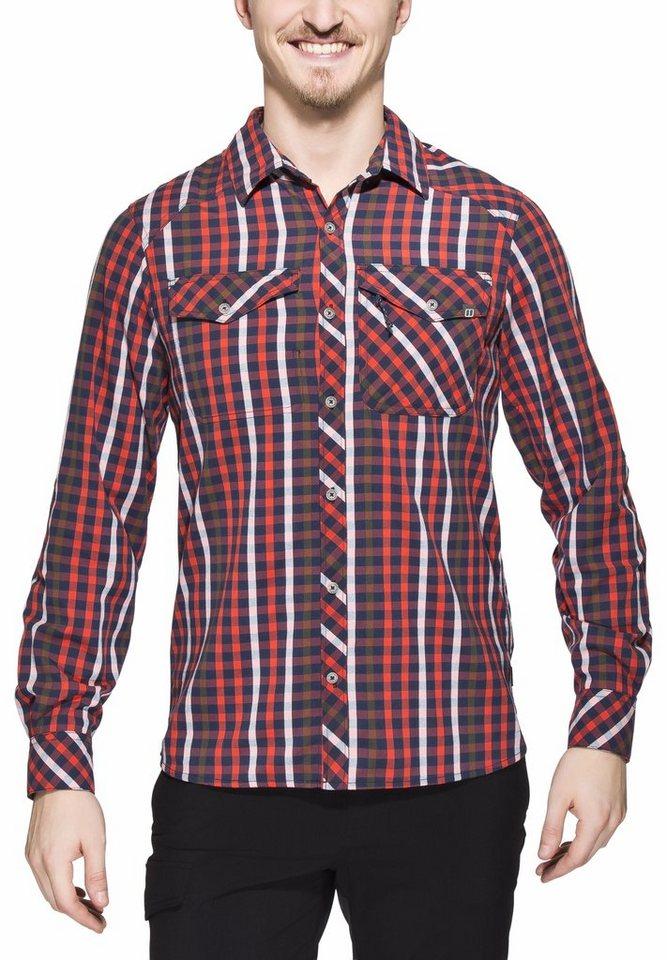 Berghaus Hemd »Eco LS Shirt Men« in rot