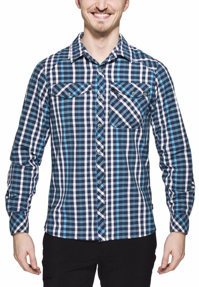 Berghaus Hemd »Eco LS Shirt Men« in blau