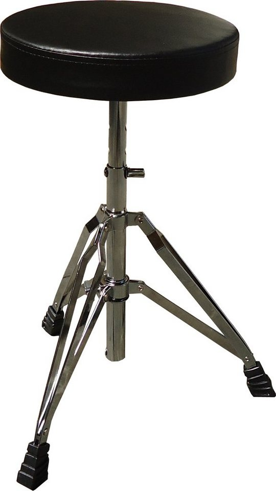 MSA Schlagzeughocker, »CXD 037« in silberfarben