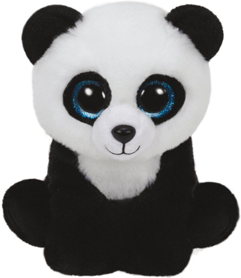 Ty Kuscheltier mit Glitzeraugen, »Beanie Classic Ming Pandabär, 24 cm« in weiß-schwarz