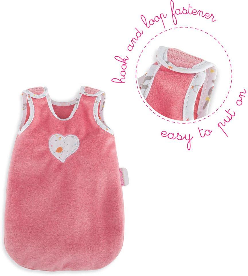 Corolle Puppenzubehör, »Schlafsack Mon Premier 30cm« in rosa