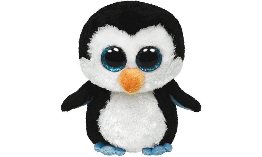 Ty Kuscheltier mit Glitzeraugen, »Beanie Boo´s™ Glubschi´s® Waddles Pinguin, XLarge 42cm«