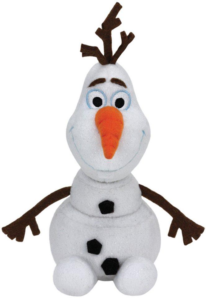 Ty Kuscheltier mit Sound, »Disney Die Eiskönigin Olaf Glitter, 30cm« in weiß