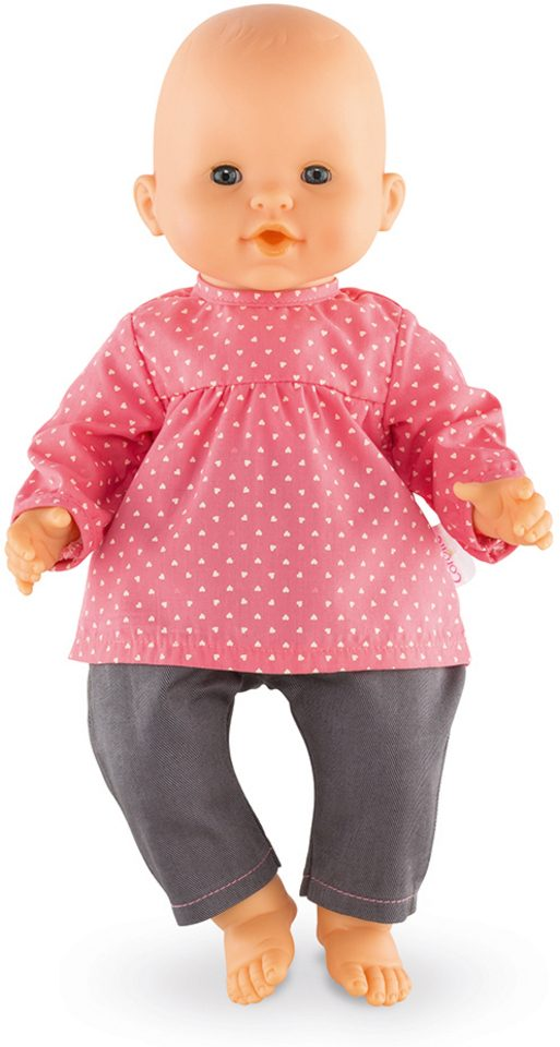 Corolle Puppenbluse und Jeans, Größe 36 cm, »BB36 Erdbeere«