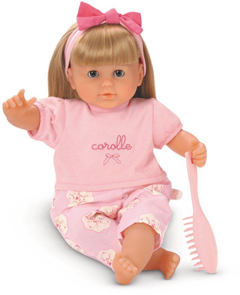 Corolle Puppe mit blonden Haaren, »Mon Bebe Classique Blondinette 36cm« in rosa