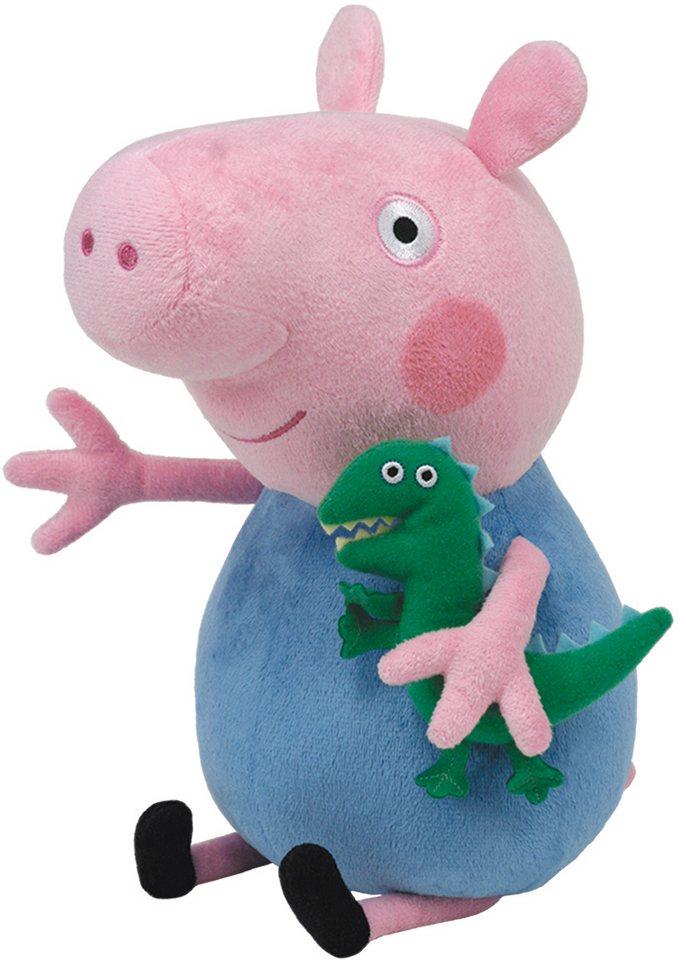 Ty Kuscheltier, »Beanie Babies® Peppa Pig Schorsch, XLarge 50cm« in rosa-blau