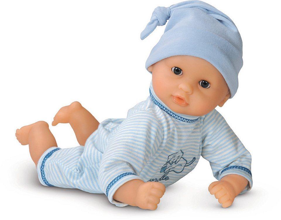 Corolle Babypuppe mit Zipfelmütze, »Calin Blau 30cm« in blau