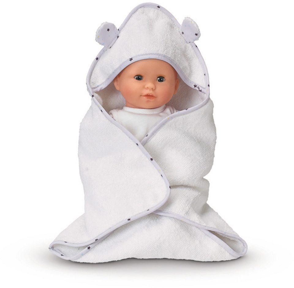 Corolle Kapuzenhandtuch für Puppen, »BB30 Bademantel und Unterwäsche«