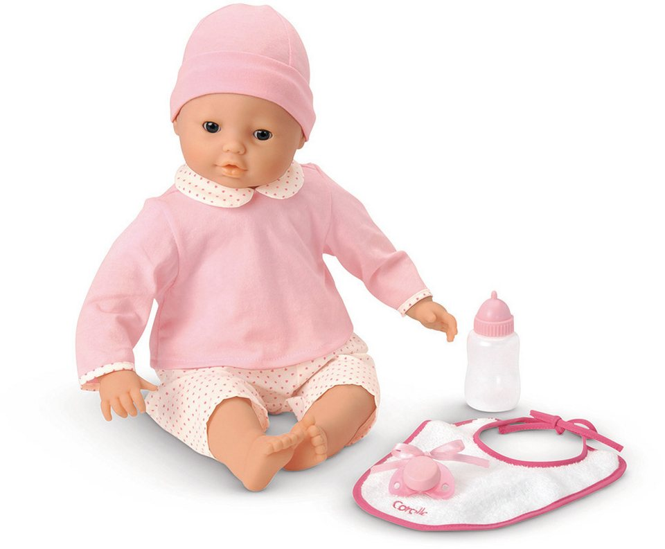 Corolle Interaktive Puppe mit Zubehör, »Lila Cherie 42cm« in rosa