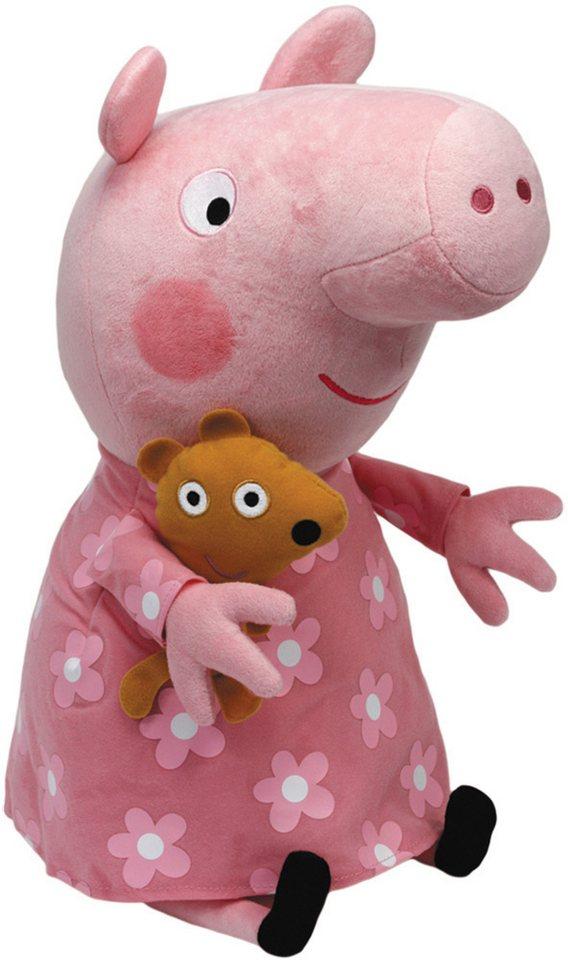 Ty Kuscheltier, »Beanie Babies® Peppa Pig im Schlafanzug, Large 25cm« in rosa
