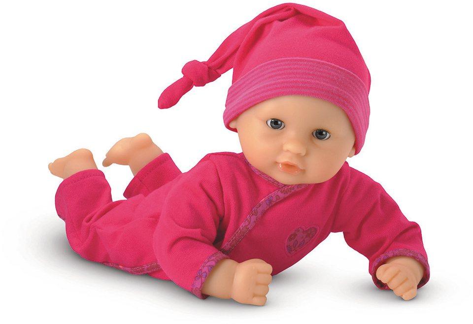 Corolle Babypuppe mit Zipfelmütze, »Calin Granatapfel 30cm« in pink