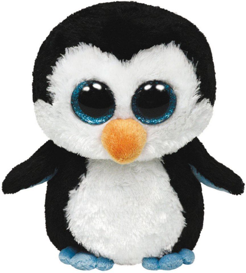 Ty Kuscheltier mit Glitzeraugen, »Beanie Boo´s™ Glubschi´s® Buddy Waddles Pinguin, Large 24 cm« in schwarz
