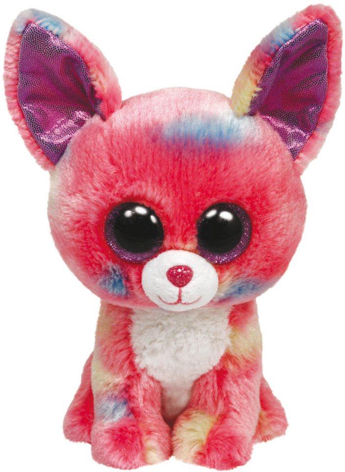 Ty Kuscheltier mit Glitzeraugen, »Beanie Boo´s™ Glubschi´s® Buddy Duchess/Cancun Chihuahua, L 24 cm« in pink/blau