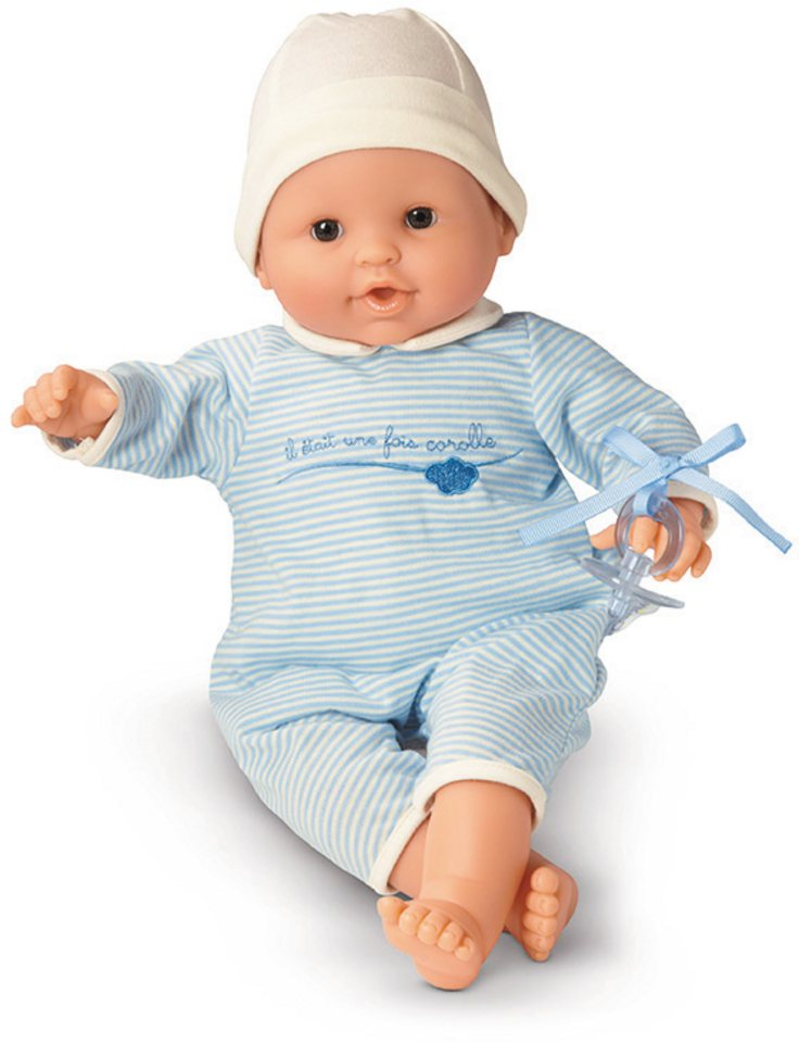 Corolle Babypuppe mit Schlafaugen, »Mon Bebe Classique blau 36cm« in blau