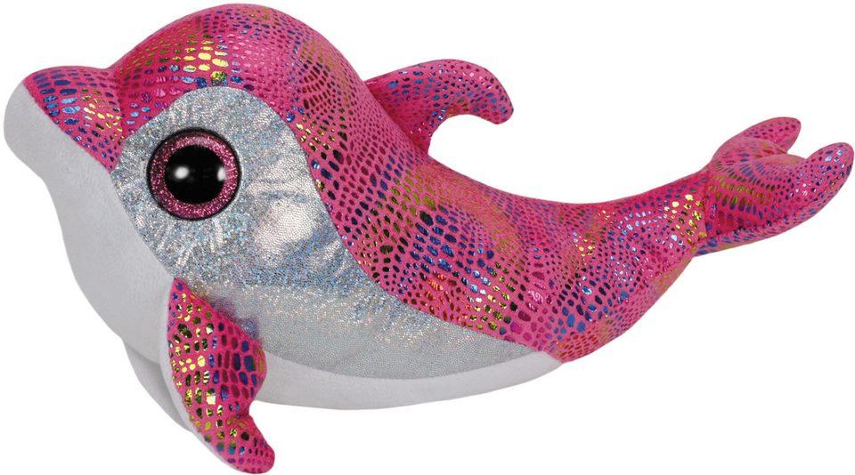 Ty Kuscheltier mit Glitzeraugen, »Beanie Boo´s™ Glubschi´s® Buddy Sparkles Delfin, Large 30cm