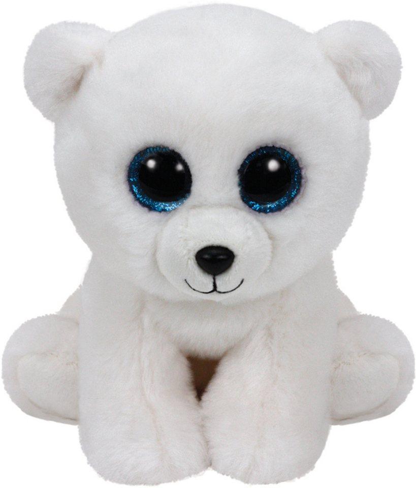 Ty Kuscheltier mit Glitzeraugen, »Beanie Classic Arctic Polarbär, 24 cm« in weiß