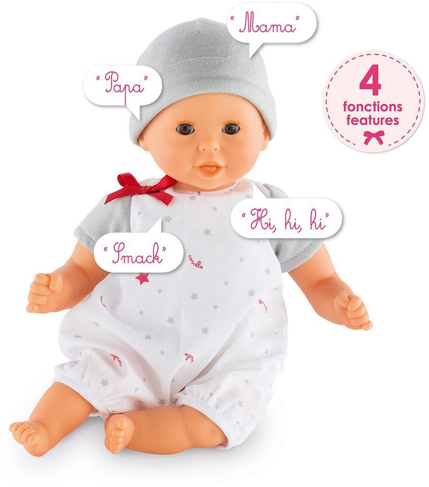 Corolle Interaktive Babypuppe mit Sprachfunktion, »Calin Bisou 30cm«