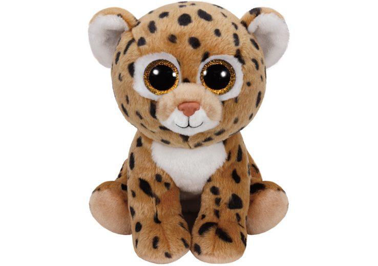 Ty Kuscheltier mit Glitzeraugen, »Beanie Classic Freckles Leopard, 24 cm«