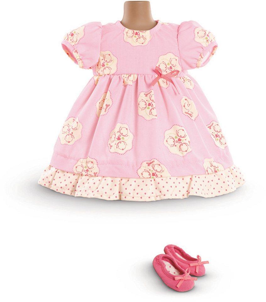 Corolle Puppenkleid mit Ballerinas, Größe 42 cm, »BB42 rosa« in rosa