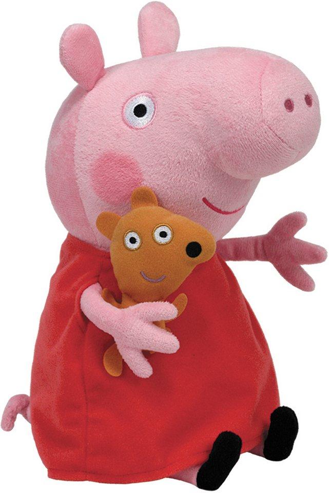 Ty Kuscheltier, »Beanie Babies® Peppa Pig, XLarge 50cm« in rosa-rot