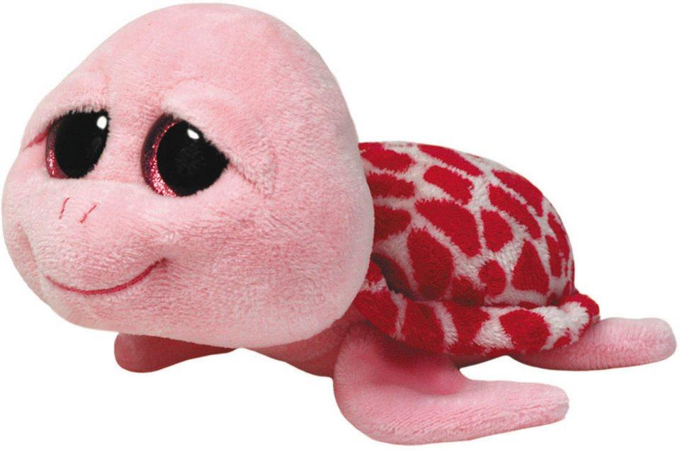 Ty Kuscheltier mit Glitzeraugen, »Beanie Boo´s™ Glubschi´s® Buddy Shellby Schildkröte, Large 24cm« in pink