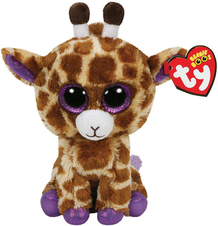 Ty Kuscheltier mit Glitzeraugen, »Beanie Boo´s™ Glubschi´s® Buddy Safari Giraffe, Large 24 cm« in braun