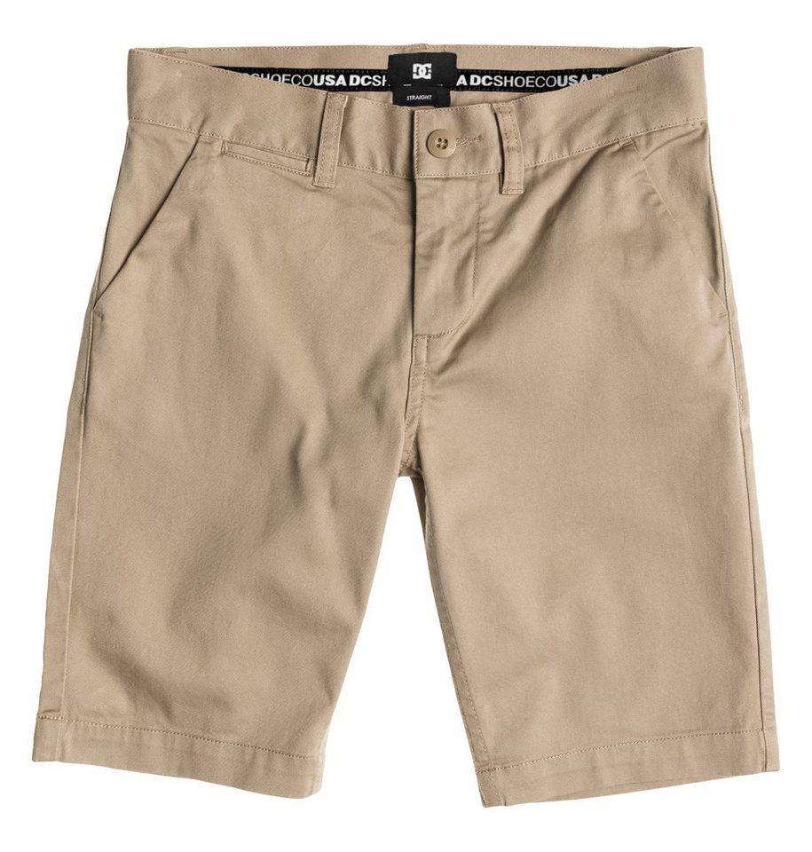 DC Shoes Walkshort »Worker Straight Shorts Boy« in khaki