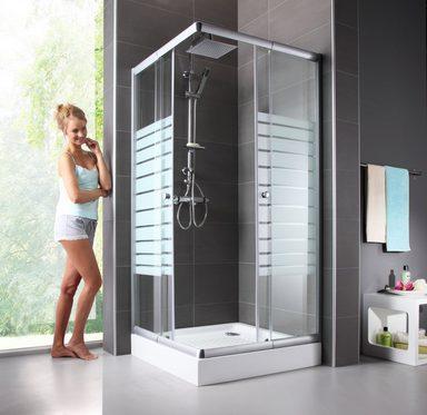 eckdusche trento variabel verstellbar 80 90 cm duschkabine online kaufen otto. Black Bedroom Furniture Sets. Home Design Ideas