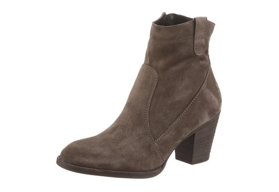 Paul Green Westernstiefelette in taupe