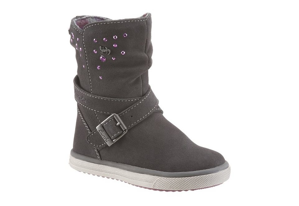 Lurchi Stiefel mit Tex Ausstattung in grau