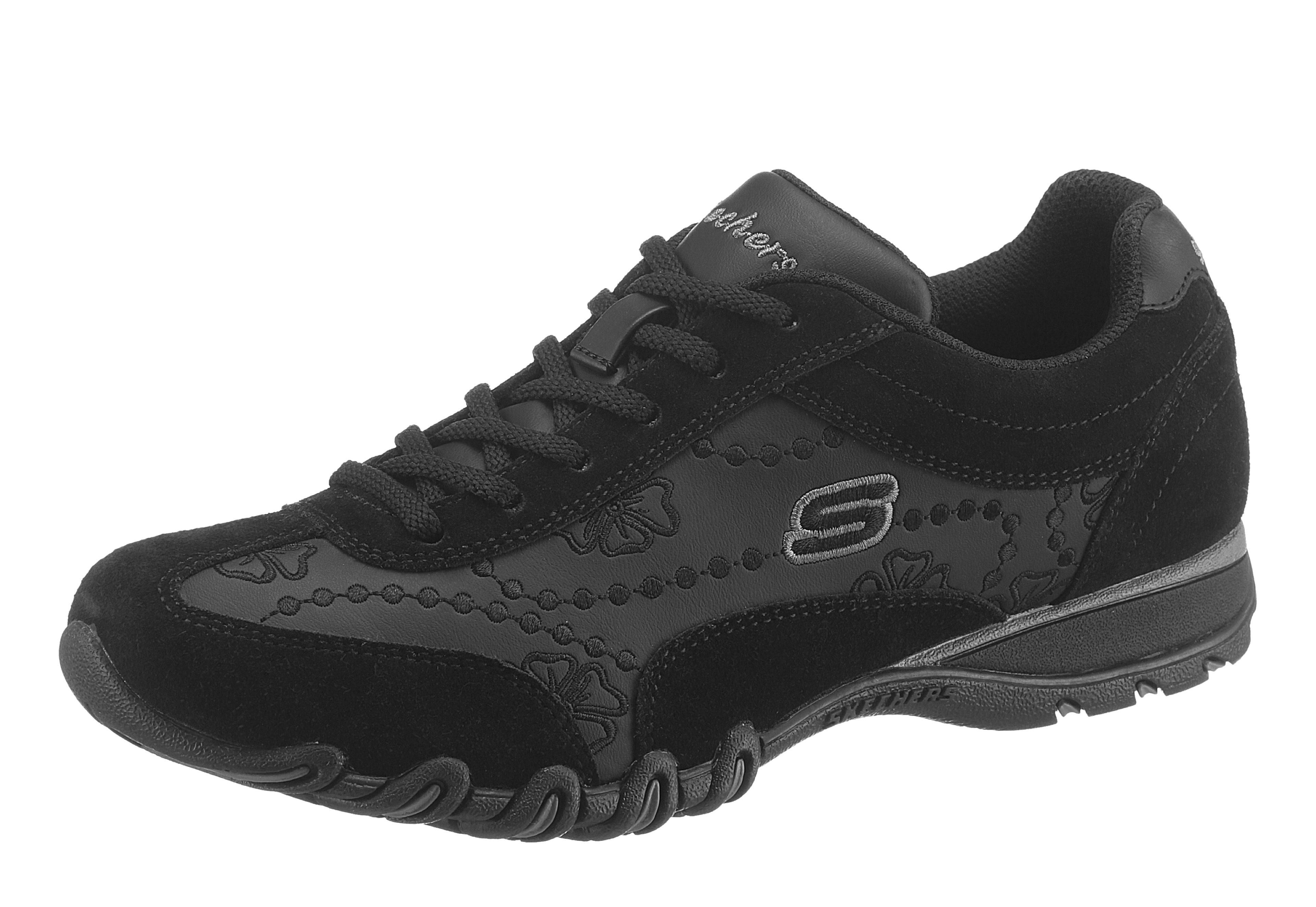 Skechers »EZ Flex 3.0 Estrella« Sneaker, in cooler Space-Optik, schwarz, 36 36