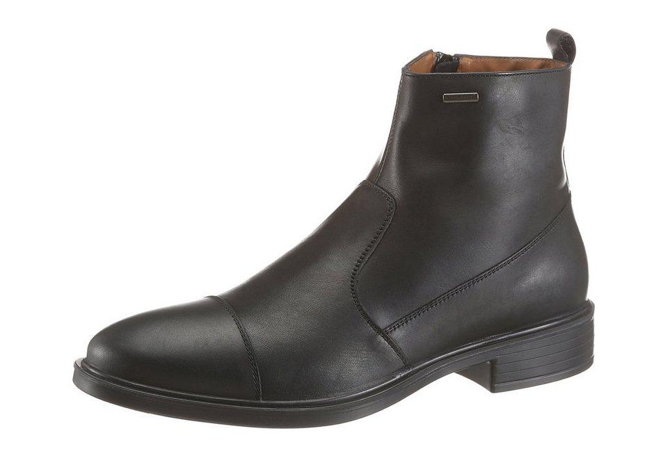 Geox Stiefel mit Reißverschluss in schwarz