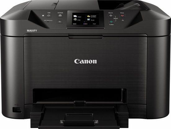 Canon MAXIFY MB5150 Multifunktionsdrucker, (LAN (Ethernet), WLAN (Wi-Fi), inkl. Office-Anwendersoftware Microsoft 365 Single im Wert von 69 Euro)