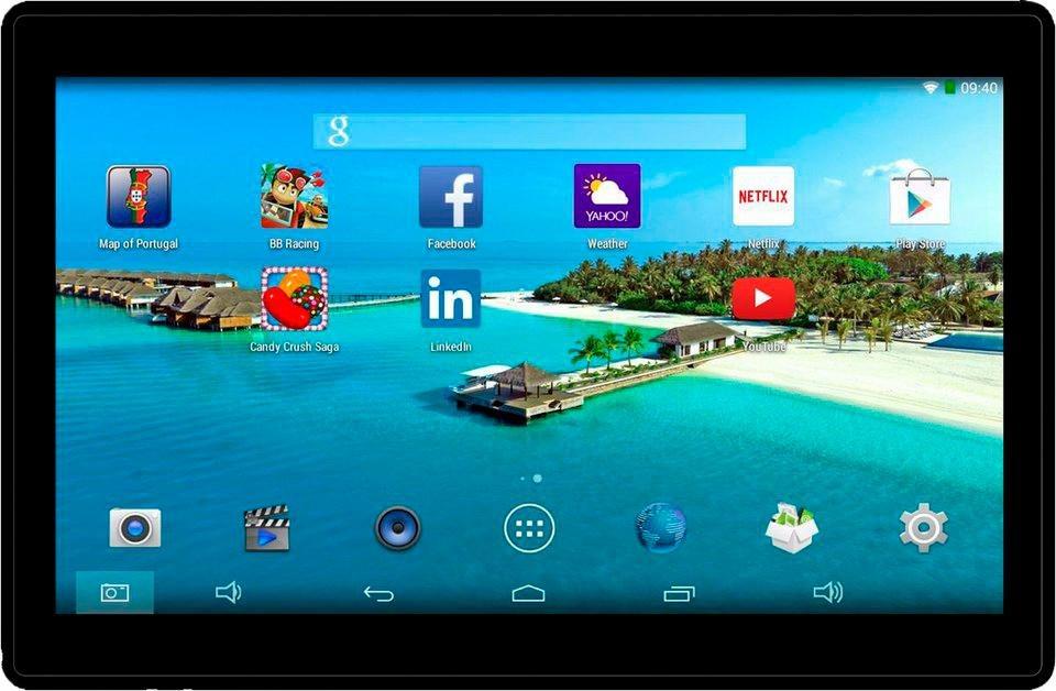 TAQ-10182 Tablet-PC, Android 5.1, Quad-Core, 25,7 cm (10,1 Zoll), 1024 MBDDR-RAM - Preisvergleich