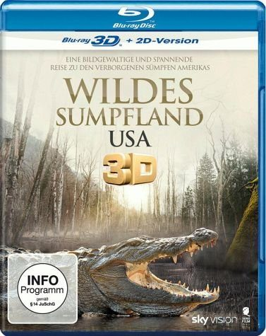 Blu-ray »Wildes Sumpfland USA (Blu-ray 3D)«