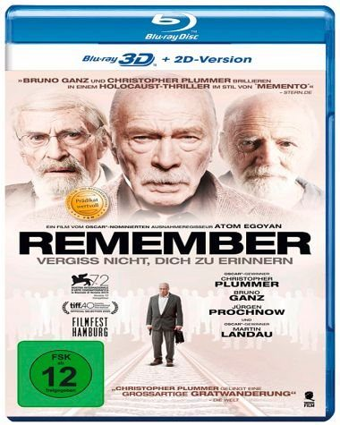 Blu-ray »Remember (Blu-ray 3D)«