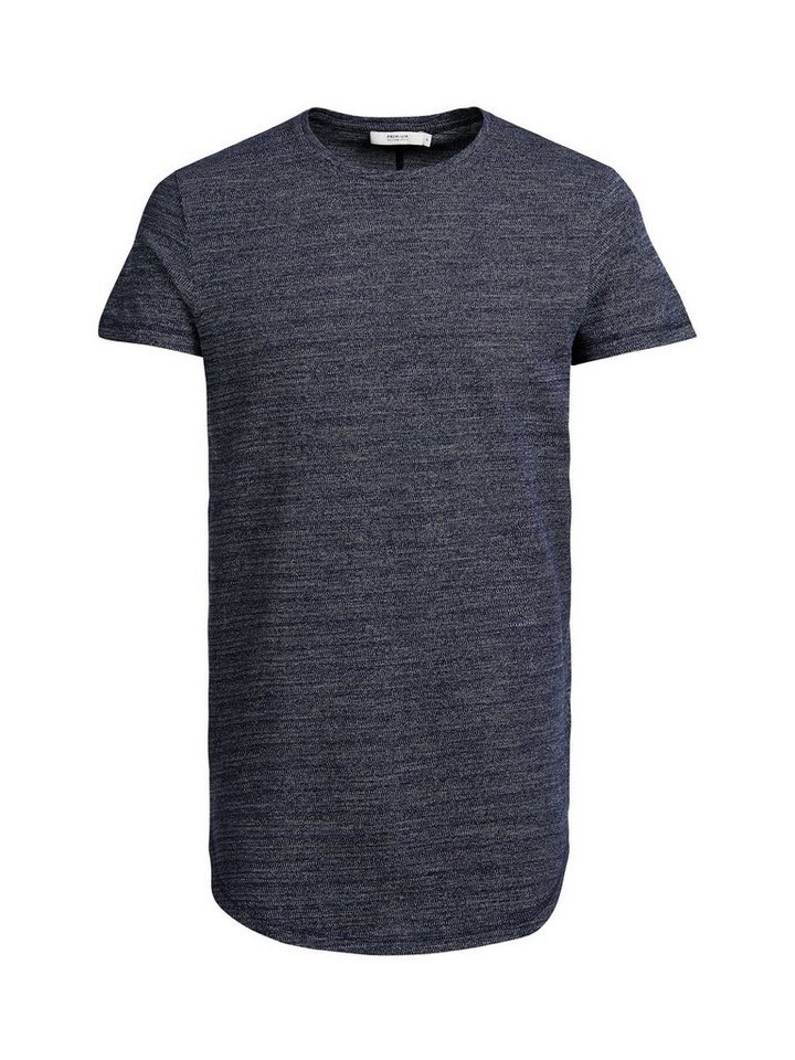 Jack & Jones Longline- T-Shirt in Navy Blazer