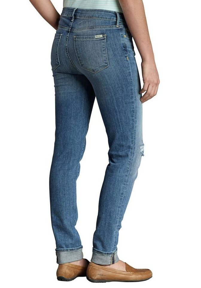 Eddie Bauer Slim Leg Jeans in Broken In