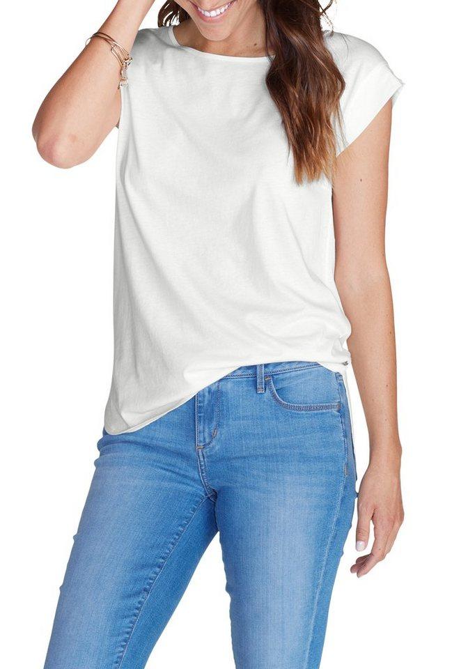 Eddie Bauer T-Shirt in Weiß
