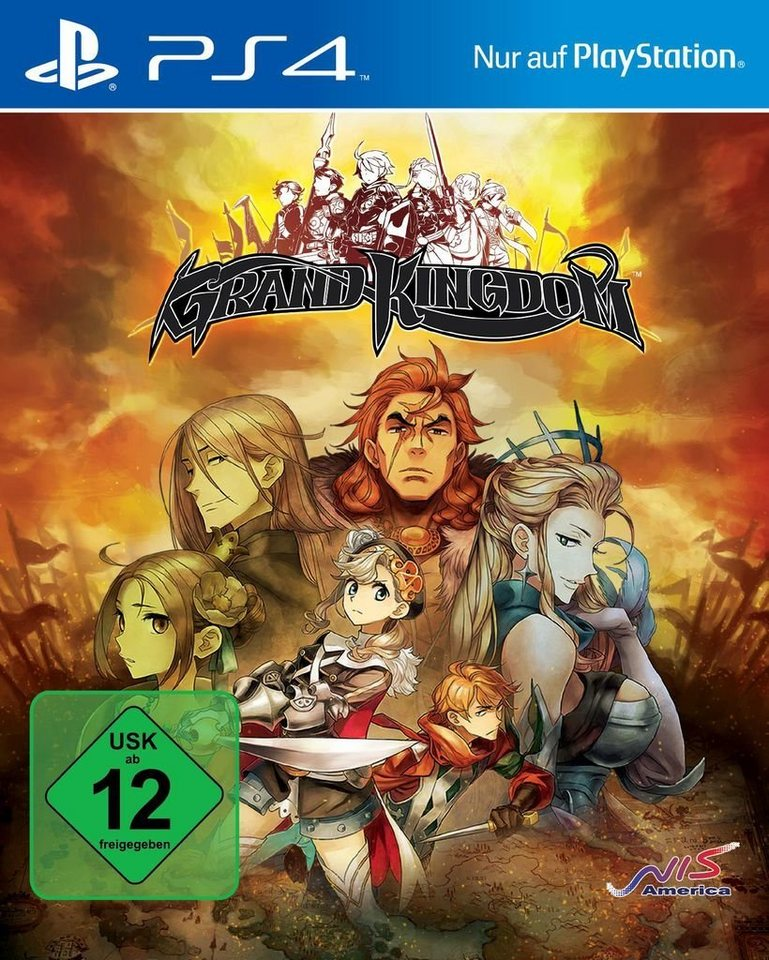 nis playstation 4 spiel grand kingdom launch edition. Black Bedroom Furniture Sets. Home Design Ideas
