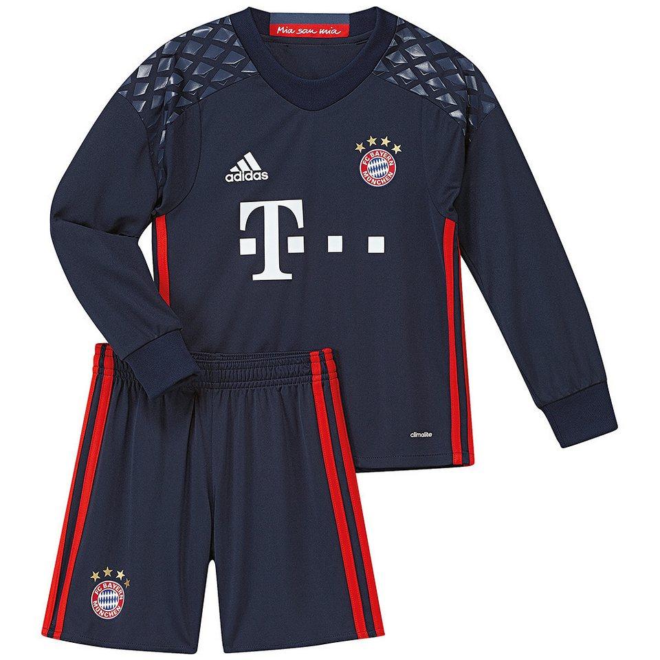 adidas Performance FC Bayern Torwart »Minikit 2017« in blau