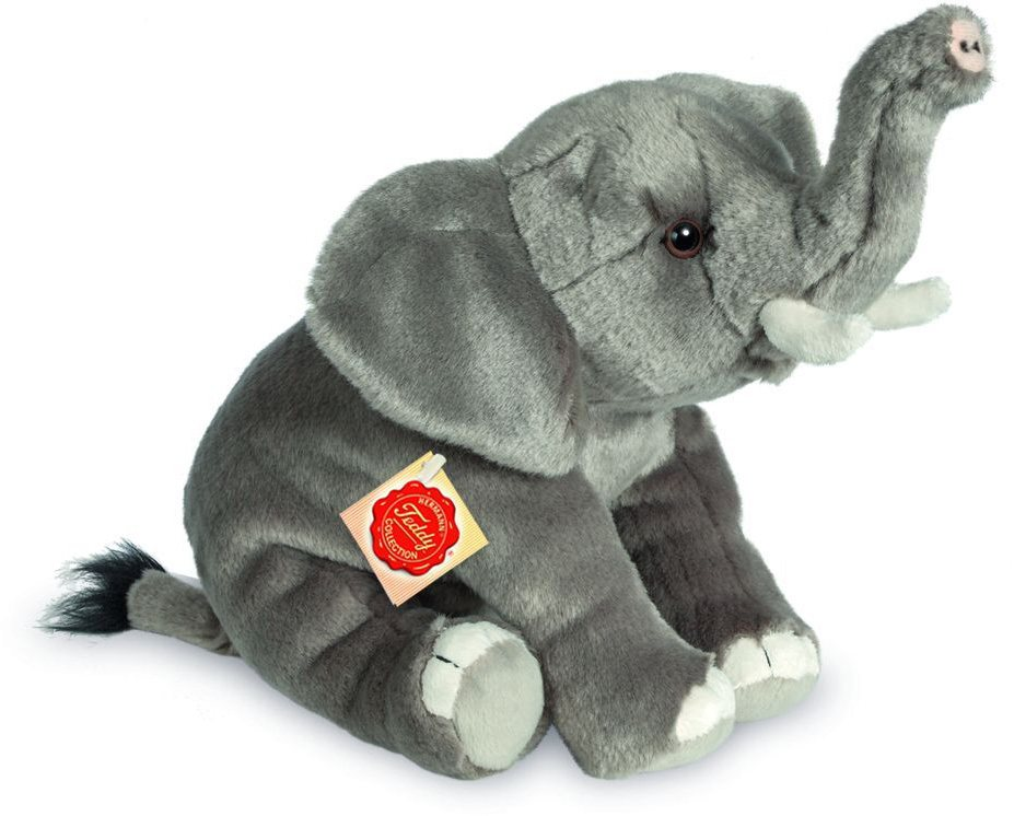 Teddy Hermann® COLLECTION Plüschtier, »Elefant, 28 cm« in grau