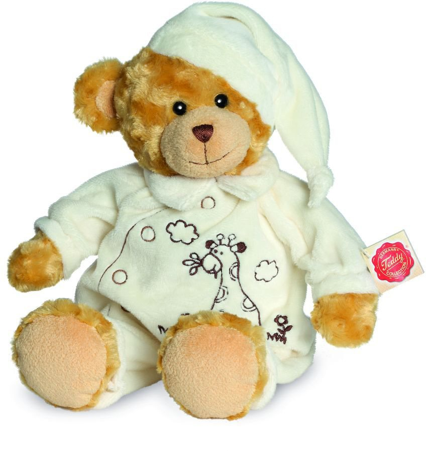 Teddy Hermann® COLLECTION Plüschtier, »Schlafanzugbär, 38 cm« in braun