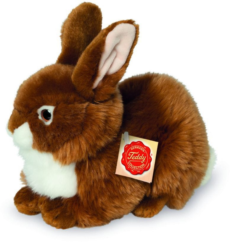 Teddy Hermann® COLLECTION Plüschtier, »Hase sitzend braun, 25 cm« in braun
