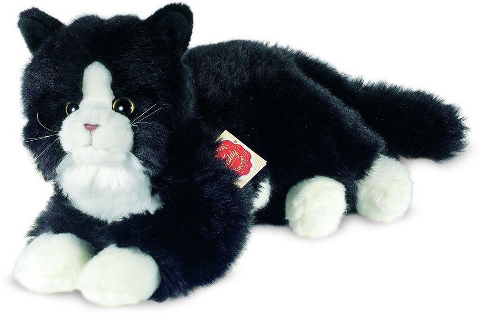 Teddy Hermann® COLLECTION Plüschtier, »Katze schwarz, 25 cm« in schwarz